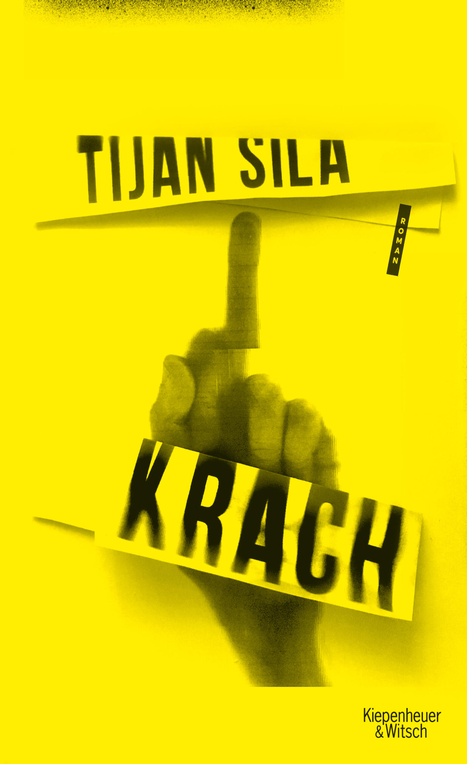 Lesung: KRACH, Roman von Tijan Sila